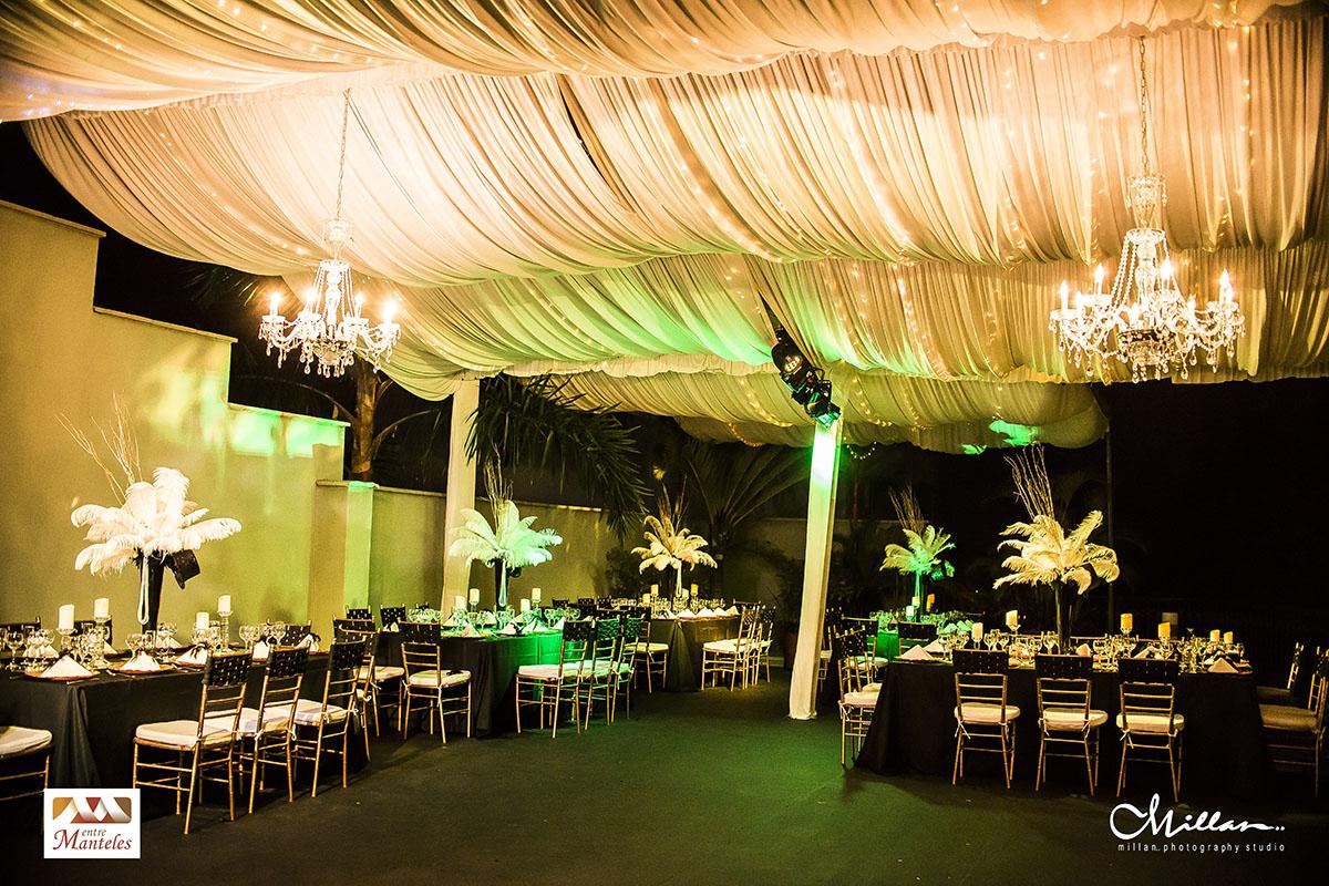 Cumplea os tem tica gran gatsby entremanteles bodas for Decoracion en bodas 2016